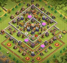 Base Coc Th 11 Terkuat Di Dunia 8