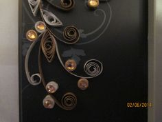 Gray Quilled frame 3