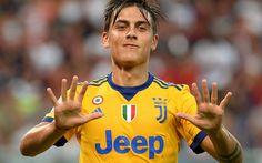 Descargar fondos de pantalla Paulo Dybala, 2017, la Juve, los futbolistas, de la Juventus, de Italia, de la Serie a