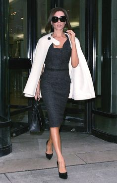 Classic Fashion on Victoria Beckham
