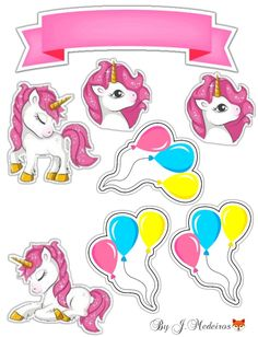 Arte My Little Pony, My Little Pony Craft, My Little Pony Birthday, Buy Stickers, Kids Stickers, Unicorn Party, Unicorn Birthday, Unicorn Paper Plates, Unicornios Wallpaper