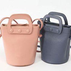 Genuine Leather Handbag Bucket Bag Crossbody Bag Shoulder Bag Clutch Purse For Women