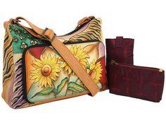 Anuschka Handbags 479 Sunflower Safari - Zappos.com Free Shipping BOTH Ways