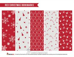 Christmas Gift Tags Printable, Free Christmas Printables, Free Printables, Christmas 2019, Christmas Themes, Christmas Gifts, Red Color Schemes, Bookmarks, Stationery