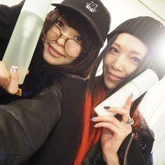 スックの新作発表会で亜子ちゃんに会えた!亜子ちゃんの指先にモンスターボールが見えます#SUQQU #東京の春色 #wwd_jp