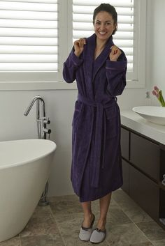 ba2f833b96 bath robes - Compare Price Before You Buy. HousecoatNightwear. Luxury  Womens Bath Robe -Baksana Coco- 100% Cotton ...