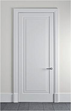 Bifold Closet Doors - February 02 2019 at White Interior Doors, Interior Door Styles, Door Design Interior, Custom Wood Doors, Wooden Doors, Flur Design, Design Design, Door Molding, Moulding