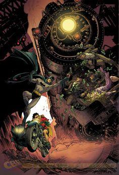EXCLUSIVE: Nolan, Van Sciver & More Provide Batman Variants in July - Comic Book Resources