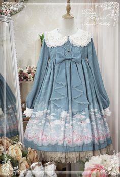 Dream Magical -Angel's Lullaby- Sweet Lolita OP Dress