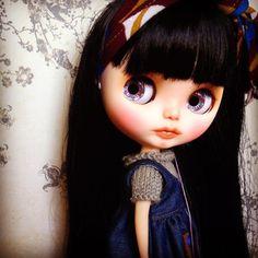 Custom Blythe Doll by Blythe & Shine OOAK Long by BlytheandShine
