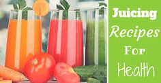 5 awesome juicing recipes that will help you be healthier. Plus, they're absolutely delicious! Check them out (and a bonus inside! Healthy Juice Drinks, Healthy Juice Recipes, Healthy Summer Recipes, Healthy Juices, Healthy Recipes For Weight Loss, Healthy Smoothies, Healthy Snacks, Healthy Weight, Easy Recipes