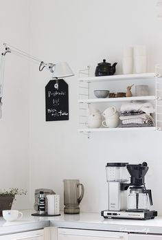 String pocket in kitchen. from Talosanomat.fi