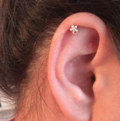 Cute Ear Piercing Ideas - Swarovski Star Helix Earring at MyBodiArt.com - Star Tragus Earring, Cartilage Earring, Helix Earring, Cartilage Stud, Tragus Stud, Helix Piercing, Tragus Jewelry,Cartilage Piercing,Silver – MyBodiArt