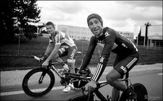 André Greipel & Bernie Eisel returning to the hotel after their TT by kristof ramon, via Flickr