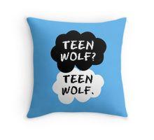Teen Wolf - TFIOS  Throw Pillow