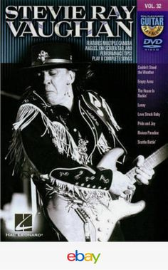 Shop Guitar Play Along, Vol. Stevie Ray Vaughan [DVD] at Best Buy. Find low everyday prices and buy online for delivery or in-store pick-up. Stevie Ray Vaughan Guitar, Steve Ray Vaughan, Guitar Play Along, William Christopher, Sheet Music Book, Music Books, Guitar Lessons For Beginners, Best Guitarist, Backing Tracks