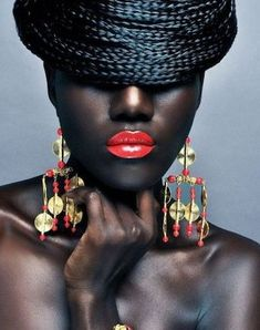 """**Essence Mag Readers Attack Naturals For Being """"Too Dark"""" to Wear Red Lipstick** < I personally think this photo is stunning and artistic. But this was a great article!"""
