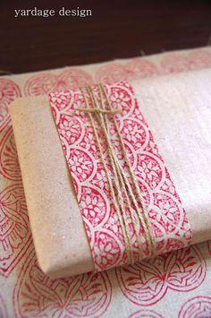 fabric and twine