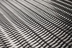Linq Woven Metal shown with Slope CrossLinq pattern in Stainless Steel