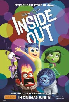 Inside Out Promotional Poster l Review of Disney Pixar's Movie Inside Out l mum-bo-jumbo.com @taddy105 : Featured Post on Turn it up Tuesdays