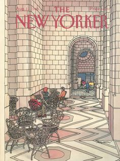 The New Yorker - Monday, August 12, 1985 - Issue # 3156 - Vol. 61 - N° 25 - Cover by : Roxie Munro