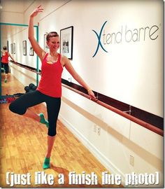 My first workout at Xtend Barre - no tutu required