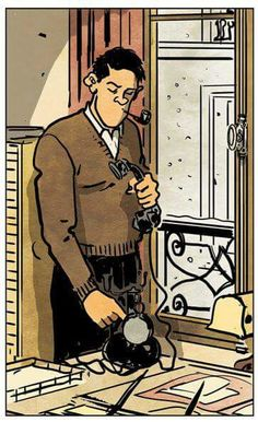 ©Jacques Tardi Comics Illustration, Illustration Sketches, Illustrations And Posters, Comic Book Artists, Comic Artist, Bilal, Graphic Novel Art, Traditional Ink, Ligne Claire