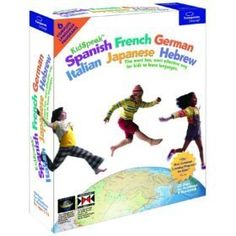KidSpeak-Spanish-French-German-Italian-Japanese-Hebrew-6-in-1For-Windows-Only