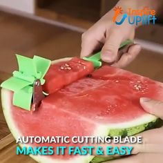 Melon Slicer Cutter Tool 😍 Introducing the innovative Melon Slicer Cutter Tool that features an automatic cutting blade. Make your own melon salad in one minute and enjoy refreshing, fruit cubes without the hassle and without dealing with a drippy mess. Cool Kitchen Gadgets, Kitchen Hacks, Cool Kitchens, Kitchen Tools, Cooking Gadgets, Cooking Tools, Cooking Recipes, Cooking Hacks, Kid Cooking
