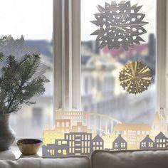 17 Meilleures Images Du Tableau Deco Fenetre Noel