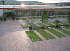parkeringsplads træer - Google-søgning Landscape And Urbanism, Landscape Concept, Urban Landscape, Landscape Design, Car Park Design, Parking Design, Grass Pavers, Tiny House Village, Parking Solutions