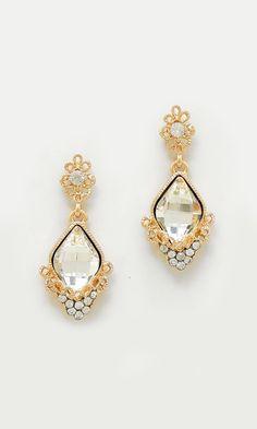 Crystal Milla Earrings