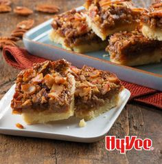 Bacon Pecan Pie Bars with Whiskey..........oh my........have to try!!!!