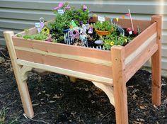 fantasievoller Garten-Kasten für Kinder