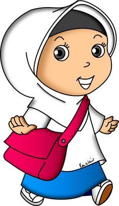 School Cartoon, Cartoon Kids, Doodle Girl, School Frame, Borders For Paper, Banner Vector, Islamic Pictures, Emoji, Diy And Crafts