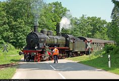 RailPictures.Net Photo: P 8 2455 Posen Untitled P 8 at Grimmelshofen, Germany by Richard Behrbohm