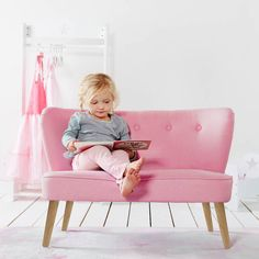 sillon-mobiliario-infantil-rosa