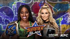 Third-generation Superstar Natalya attempts to capture the SmackDown Women's Champion from Naomi at SummerSlam tonight. Dean Ambrose Seth Rollins, Tyson Kidd, Ready To Rumble, Wwe Wallpapers, New Champion, Sasha Bank, Wwe News, Wwe Photos, Wwe Wrestlers