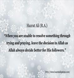 Hazrat Ali Quotes about Dua - Hazrat Ali Quotes