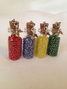 Free shipping on this and everything in the shop! Harry Potter House Points Mini Ornaments by ReadingFanGirl