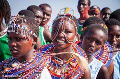The Maasai Olympics...
