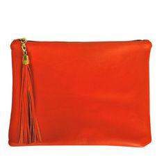 lulu clutch in orange, yes please!