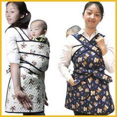 2012- Mystic Korea: 'Podaegi' Korean baby sling: emerging as new generation mom's must-have in