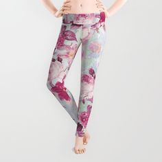 Check out society6curated.com for more! @society6 #floral #flowers #pattern #fashion #womensfashion #style #leggings #pants #cute #art #awesome #sweet #cool #buy #shop #shopping #sale #nice #gift #unique #fun #beautiful #beautfy #pretty #botanical #design #cream #pink #red