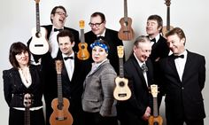 The Ukulele Orchestra of Great Britain: strings attached - via The Guardian
