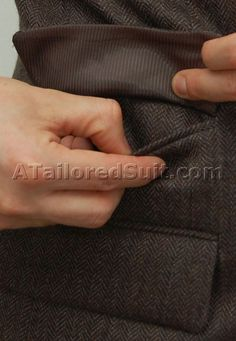 Suit details that matter and why.....