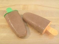 Pb& Banana Protein Fudgesicles | Skinny Mom | Tips for Moms | Fitness | Food | Fashion | Family