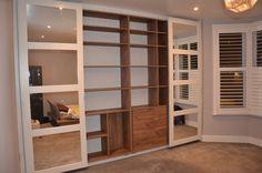 Vetro sliding doors wardrobe