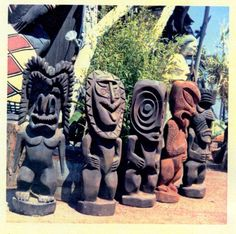 Barney West,Tiki's