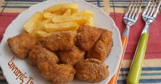 Nuggets with yogurt crust Good Food, Yummy Food, Tasty, Cornish Hens, Chicken Nuggets, Greek Recipes, Poultry, Entrees, Recipies